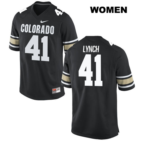 Nike Devin Lynch Womens Stitched Black Colorado Buffaloes Authentic no. 41 College Football Jersey - Devin Lynch Jersey